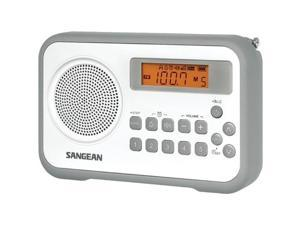 SANGEAN PR-D18GR AM/FM Digital Portable Receiver with Alarm Clock ,Green