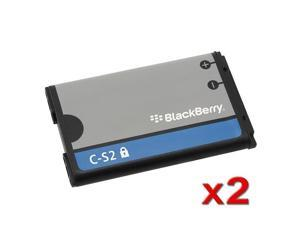 2X BlackBerry Curve 8520 / 9300 8530 Aries Standard OEM Original Battery C-S2 / BAT-06860-009