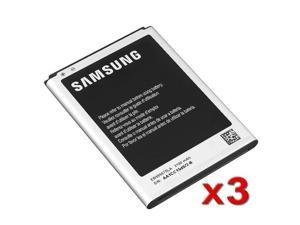 3X OEM EB-L1G6LLA / L1G6LLZ 3100mAh Original Battery EB595675LA For Samsung Galaxy Note II 2 N7100