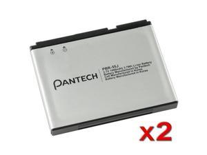 2 x Pantech P9020 Swift / P6020 Standard OEM Battery PBR-55J