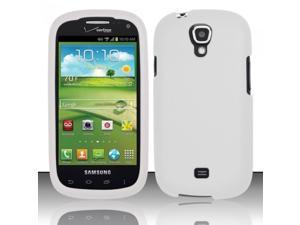 BJ For Samsung Stratosphere 2 i415 (Verizon) Rubberized Case Cover - White
