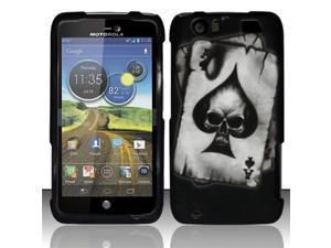 BJ For Motorola Atrix 3 HD MB886 Rubberized Hard Design Case Cover