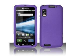 BJ For Motorola Atrix 4G MB860 Rubberized Hard Snap-On Case Cover