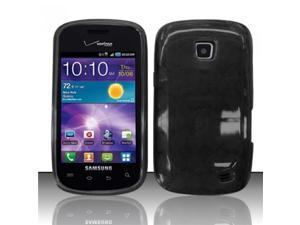 BJ For Samsung Illusion/Galaxy Proclaim i110 TPU Gel Cover Case - Black