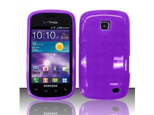 BJ For Samsung Illusion/Galaxy Proclaim i110 TPU Gel Cover Case - Purple