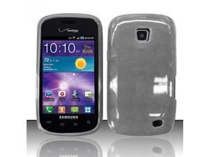 BJ For Samsung Illusion/Galaxy Proclaim i110 TPU Gel Cover Case - Smoke