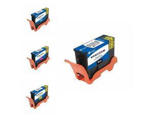 G&G 4-Pack Inkjet Ink Cartridge Black Cyan Magenta Y For Dell All-In-One V525w V725w