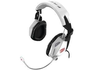 Mad Catz F.R.E.Q. 7 Surround Sound Gaming Headset for PC - White