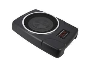 """Power Acoustik THIN_8A Pre-Loaded Active Enclosure with 8"""" Subwoofer"""
