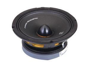"Power Acoustik MID_80 Speaker ,8"", 350W, Midrange, 1202-8kHz Freq Resp, 98dB Efficiency, 3.25"" Mounting Depth"