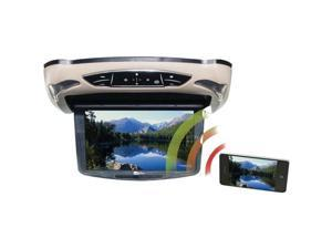 """CONCEPT CFD-135M Flip-Down Video Monitor with Miracast & Interchangeable Covers ,13"""""""
