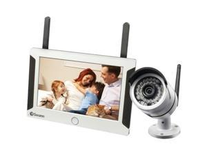 SWANN SWNVW-470KIT-US Wi-Fi 4-Channel NVR Monitoring System with Cameras
