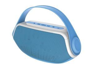 Sylvania SP233 BLUE Bluetooth (R ) Boom Box (Blue )