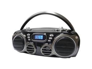 Sylvania SRCD682BT Bluetooth (R ) Portable CD Radio Boom Box