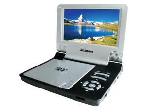 "Sylvania SDVD7014 BLACK 7"" Portable DVD Player ,Black"