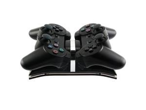 eForCity Dual Charging Station For Sony PS3 Controller, Black