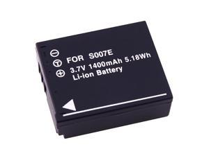 eForCity Li-Ion Battery Compatible With Panasonic Cga-S007 / Cgr-S007