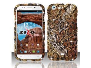 For BLU Life One L120 - Full Diamond Design Cover - Cheetah FPD