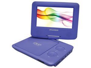 "Sylvania SDVD7027 PURPLE 7"" Swivel-Screen Portable DVD Player ,Purple"