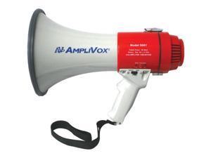 AmpliVox - S601R - Mity-meg 15w Megaphone Use Alkaline Or Lithium Battery