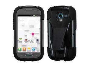 For T599 Galaxy Exhibit Black Inverse Advanced Armor Stand Protector Cover
