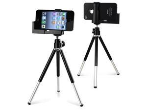 eForCity Tripod Phone Holder compatible with Apple iPod Touch 5th 6th Generation, Black