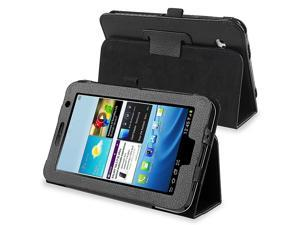 Leather Case Compatible with Samsung Galaxy Tab 2 7.0/ P3100/ P3110, Black