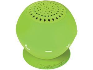AudioSource SP2GRE Sound pOp 2 Water-Resistant Bluetooth Speaker (Green)