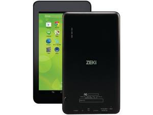 "ZEKI TBDG734B 7"" Dual Core Tablet with Andriod KitKat"