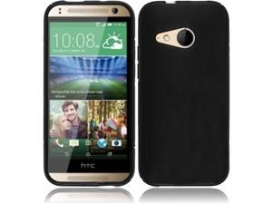 For HTC One Remix M8 Mini One Mini 2 Frosted TPU Cover Case - Black