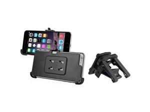 iPhone 6 Plus Holder - eForCity Car Air Vent Phone Holder Mount and Plate for Apple iPhone 6 Plus (5.5), Black