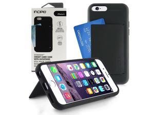 "Incipio STOWAWAY Black/Black Case for iPhone 6 4.7"" IPH-1185-BLK"