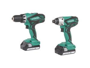 KC18DGL 18V Cordless Lithium-Ion Impact and Drill Driver Combo Kit