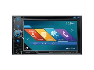 "Clarion VX405 6"" Double-DIN DVD Multimedia Receiver with Bluetooth(R) & Pandora(R) Internet Radio"