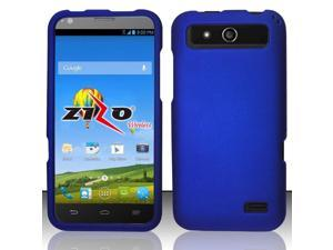 ZTE Speed Case, eForCity Rubberized Hard Snap-in Case Cover For ZTE Speed, Blue