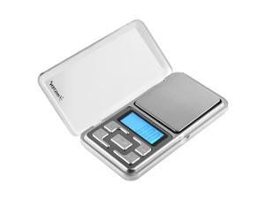 eForCity Digital Electronic Pocket Handy Scale 0.01-200g Jewelry scale, Silver