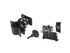 """iPhone 6 Case - eForCity Bicycle Phone Holder for Apple iPhone 6 (4.7"""") , Black"""