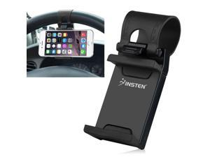 eForCity Car Steering Wheel Clip Mount Holder Cradle Stand For iPhone 6 5 4 Samsung Galaxy S6 S5 HTC One Mobile Phone GPS