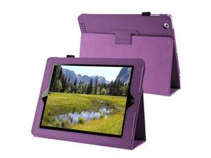 Leather Case w/ Stand Compatible with Apple iPad 2/ipad 4 / ipad with Retina display / iPad 3/ipad 4 / ipad with Retina display ...