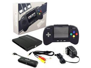 Retro-Bit RetroDuo Portable Handheld Console Core Edition Black