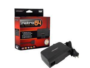 Retro-Bit 5 Feet AC Power Supply Adapter For Nintendo 64