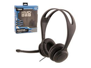 KMD Live Chat Headset With microphone For Sony PS4 Black Small