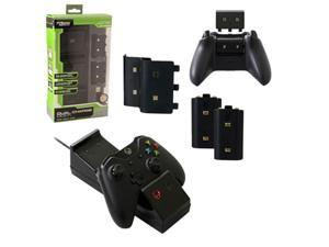 KMD Dual Charging Dock For Microsoft Xbox One Console Black