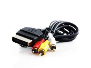 KMD 6 Feet AV Composite Cable For Microsoft Xbox