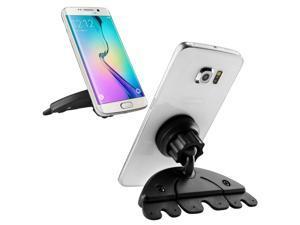 eForCity Black Car CD Slot Phone Magnetic Holder Mount For Nexus 5X 5P iPhone 6 6+ 5 Galaxy S6 S5 S4 Nexus 5 4 HTC Motorola Smartphone