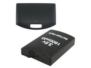For PSP 1000 3.6V 1800mAh Battery Pack + battery door