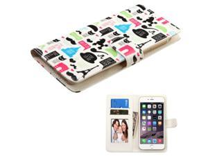 Case Cover For Apple iPhone 6 Plus / LG G Pro 2 Lite / G Pro Lite / G2 / G3 / Motorola Moto X (2nd Gen) / Samsung Galaxy Note / Note 3 / Note 4 / Note Edge / Note II / ZTE ZMax, White / Colorful