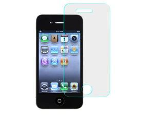 Apple iPhone 4 4S Screen Protector, eForCity Clear Tempered Glass LCD Screen Protector Shield Guard Film For Apple iPhone 4 4S