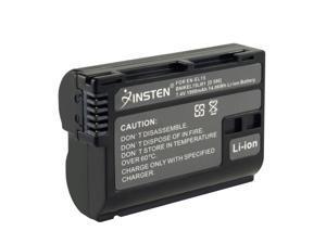 eForCity 2 X Decoded Nikon En-El15 Li-Ion Battery Compatible With Nikon D-Series D7000 / D800 / D800E