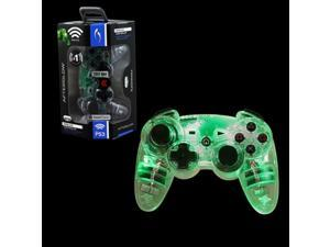 PDP Afterglow Wireless Controller For Sony PlayStation 3 - Green